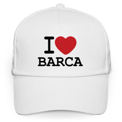 Кепка бейсболка I Love Barca
