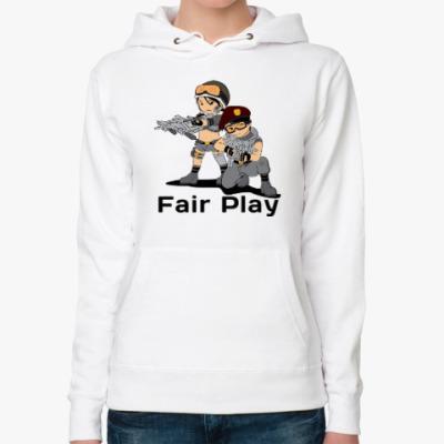 Женская толстовка худи Fair Play PB