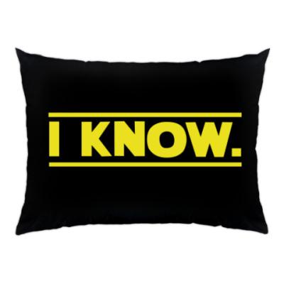 Подушка i know star wars