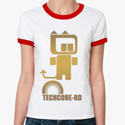 Женская футболка Ringer-T Techcore-RD