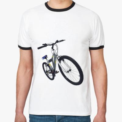 Футболка Ringer-T  ''Bike''