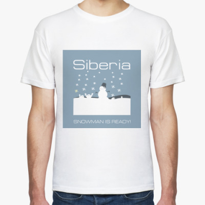 Футболка Siberia Snow-Man T-Shirt