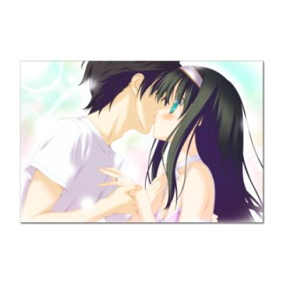 Наклейка (стикер) Anime