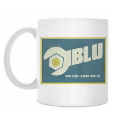Кружка TF2 Blu