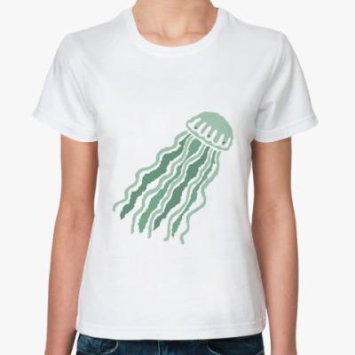 Классическая футболка Медуза
