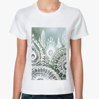 Классическая футболка Луговые травы