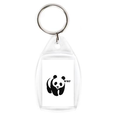 Брелок WWF. Панда с лого