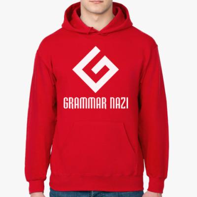 Толстовка худи Grammar nazi