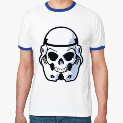 Футболка Ringer-T Trooper Skull