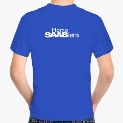Детская футболка Homo SAABiens