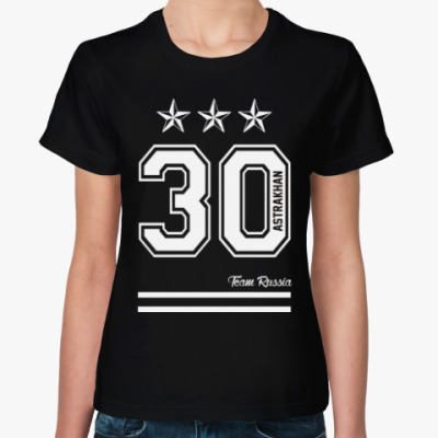 Женская футболка Астрахань