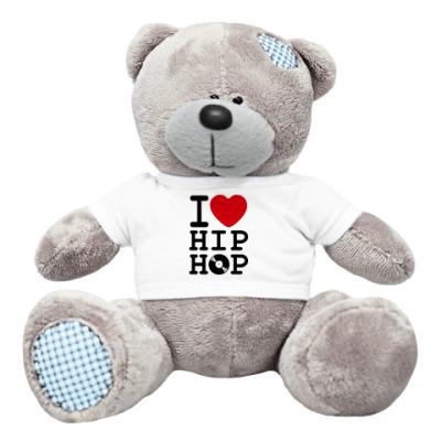 Плюшевый мишка Тедди Мишка I Love Hip Hop