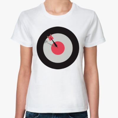 Классическая футболка Мишень