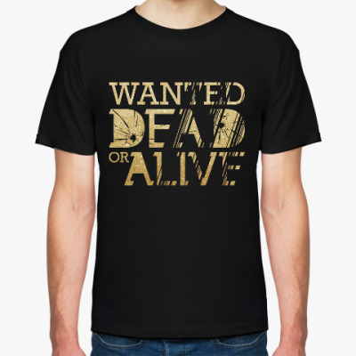 Футболка Wanted Dead or Alive