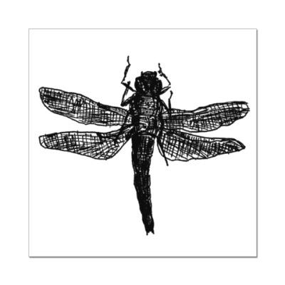 Наклейка (стикер) Dragonfly