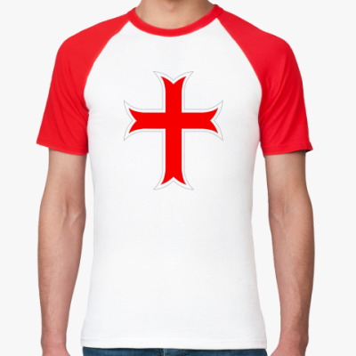 Футболка реглан Тамплиерский крест