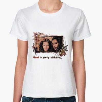 Классическая футболка Виктория и Лоран