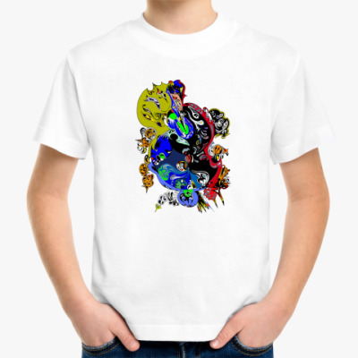 Детская футболка арт Космос