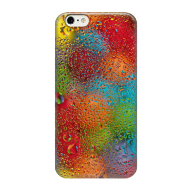 Чехол для iPhone 6/6s огни дождя