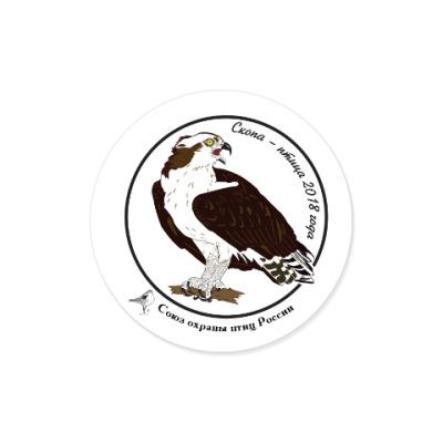 Виниловые наклейки Скопа - птица 2018 года