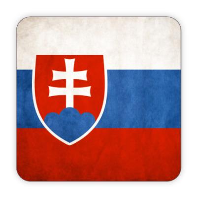 Костер (подставка под кружку) Словакия