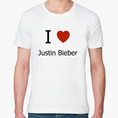 Футболка из органик-хлопка I Love JB