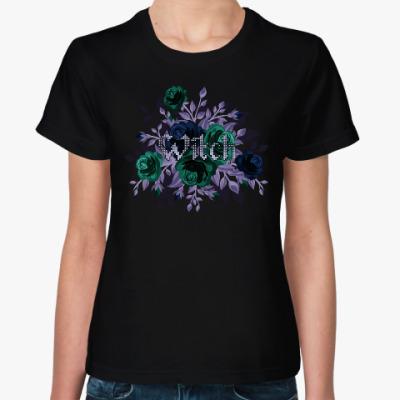Женская футболка Witch