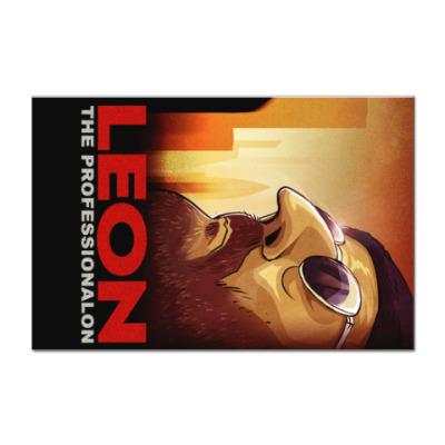 Наклейка (стикер) Леон.