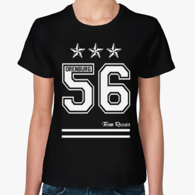 Женская футболка Оренбург