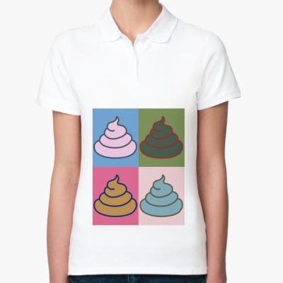 Женская рубашка поло 'Энди Уорхол'