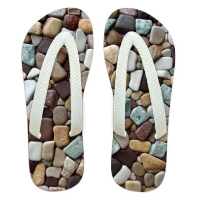 Шлепанцы (сланцы) Камни