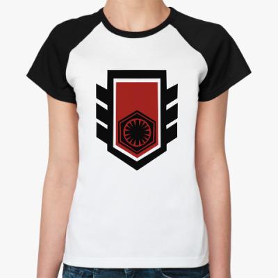Женская футболка реглан Рыцари Рен star wars