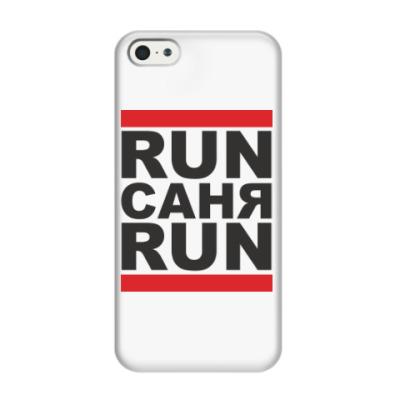 Чехол для iPhone 5/5s Run Саня Run