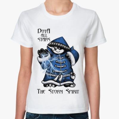 Классическая футболка The Storm Spirit
