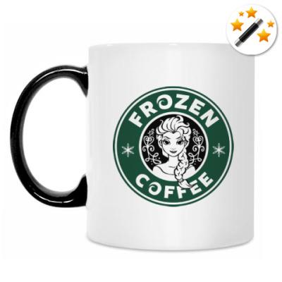 Кружка-хамелеон Frozen coffee