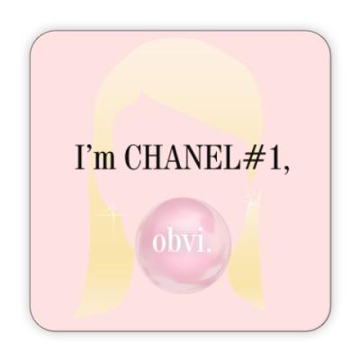 Костер (подставка под кружку) Channel#1 quotes. Scream Queens
