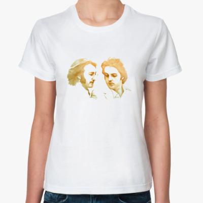Классическая футболка Paul & John