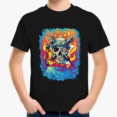 Детская футболка Music Skull
