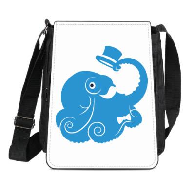 Сумка-планшет Сэр осьминог
