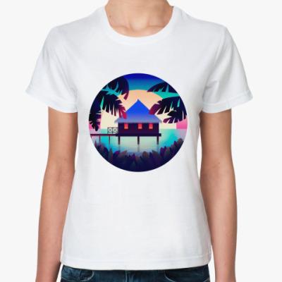 Классическая футболка Colorful Sunset