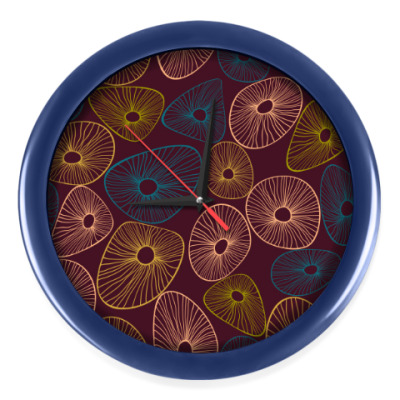 Настенные часы Круги на полях