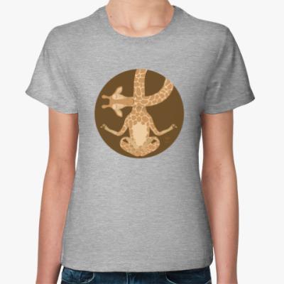 Женская футболка Animal Zen: G is for Giraffe