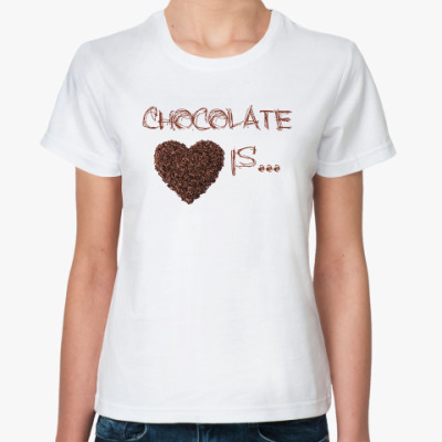 Chocolate is...my love