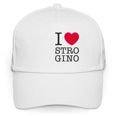 Кепка бейсболка I Love Strogino