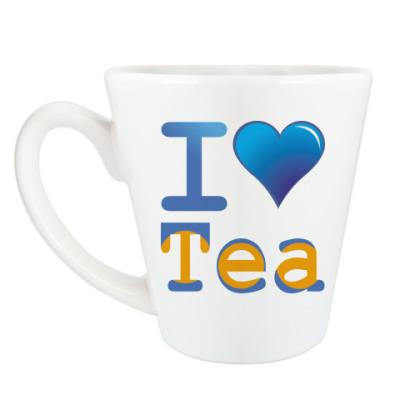 Чашка Латте Я люблю Чай
