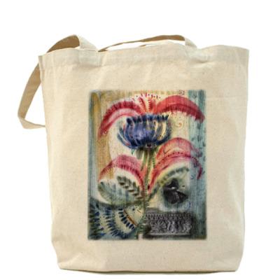 """Сумка Холщовая сумка  """"Цветы1"""""""
