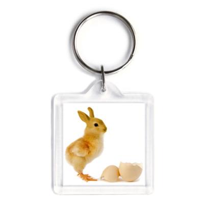 Брелок Курица-кролик