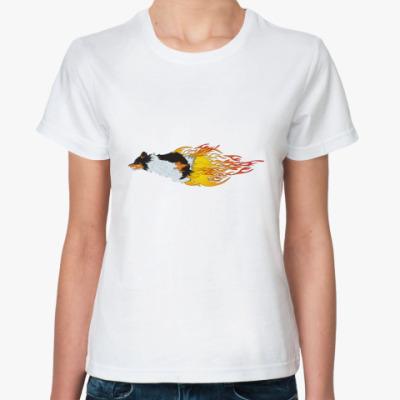 Классическая футболка ПЛАМЯ