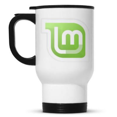 Кружка-термос Linux Mint