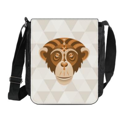 Сумка на плечо (мини-планшет) Год обезьяны